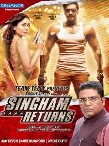 Singham Returns 2014 online subtitrat full HD 1080p bluray .