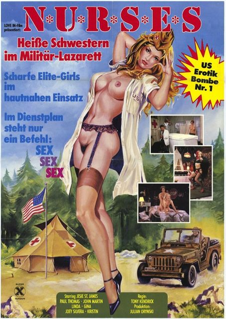 +18 Nurses , 18 Nurses , filme porno cu subtitrare romana , +18 Nurses Of The 407th 1982 , porno cu subtitrare , Jesie St. James, Paul Thomas, Jon Martin , blonde , brunete , tate mari , cur mare , pizda stramta , pula mare , muie , sex , misionar , umeri craci , pe la spate , capra , orgasm , pornografie ,